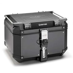 TOP CASE KAPPA : KVE48B Βαλίτσα #Kappa Αλουμινίου K-VENTURE 48LT Tail Light, Kappa, Himalayan, Black, Robot, Honda, Tech, Saddle Bags, Briefcases