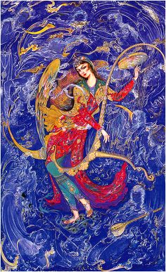 Mahmoud Farshchian, Persian miniature painting