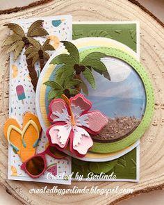 Scrapbook Cards, Scrapbooking, Nautical Cards, Marianne Design, Strand, Hawaiian, Card Ideas, Challenges, Ocean