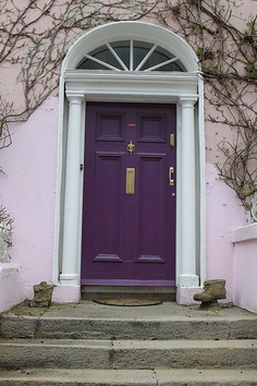 Bon Paint The Front Door Purple....the Couple Down The Street Already Did