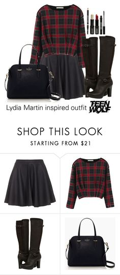 Lydia Martin inspired outfit/Teen Wolf by tvdsarahmichele on Polyvore featuring Chicnova Fashion, Joie, UGG Australia, Kate Spade and Lord & Berry