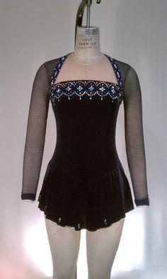 Del Arbour Beaded D68-Z14 Skating Dress - 4 Colors