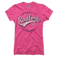 Radford University Highlanders Ring Spun Tee - New Agenda by Perrin   Neebo.com