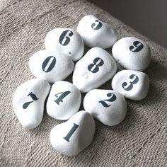 Volg met je vingers de volgorde van de cijfers...prachtig om samen het synchroon tellen te laten ervaren
