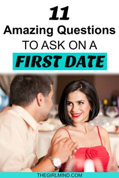 Are you going on a first date and wondering what questions to ask on your date with a guy? Here are 11 amazing questions to ask a man on a first date. Great conversation for your date! #datenight #firstdate #romance #relationshipadvice #lovetips #datingtips #date #dating #boyfriend #firstdateadvice