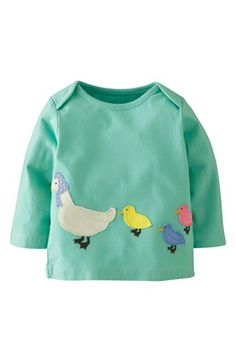Mini Boden Patchwork Appliqué Tee (Baby Girls) available at #Nordstrom