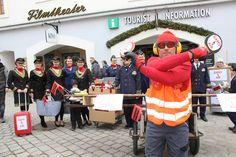Kitzbüheler Fasching - Kitzbühel Tourismus geht mit GamsAir in die Luft - Lieben Dank für's mitmachen!