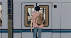 anime, aesthetic, and ghibli image Anime Gifs, Art Anime, Manga Anime, Aesthetic Gif, Retro Aesthetic, Animation, Arte 8 Bits, Chibi, 90s Cartoons