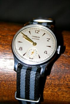 50's russian vintage watch with Nato strap   by sergeyt photo