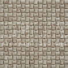 Trento Classic Travertine mosaic 2,3x2,3 cm (DG 2114)