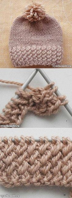 Fun Kitty Cat Hat Knitting Patterns Free and Paid Size Baby to Adult, Knit Cat Ear Hat; Cable Cat Hat, Cat White Whiskers Hat and Crochet Baby Beanie, Knit Or Crochet, Crochet Hats, Knitting Stitches, Baby Knitting, Knitting Projects, Crochet Projects, Knitting Patterns, Crochet Patterns