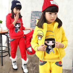 33.13$  Buy now - https://alitems.com/g/1e8d114494b01f4c715516525dc3e8/?i=5&ulp=https%3A%2F%2Fwww.aliexpress.com%2Fitem%2F2016-winter-hot-fashion-children-s-winter-suit-girls-printed-cartoon-girl-velvet-vest-three-piece%2F32771454198.html - 2016 winter hot fashion children's winter suit girls printed cartoon girl velvet vest three-piece suit 33.13$