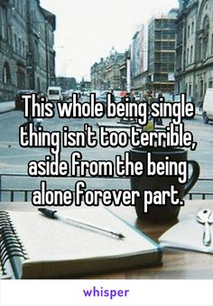 The good thing about being single
