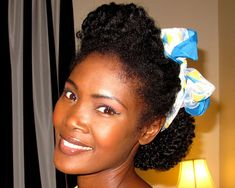 24 Exceptional African American Natural Hairstyles. Puff