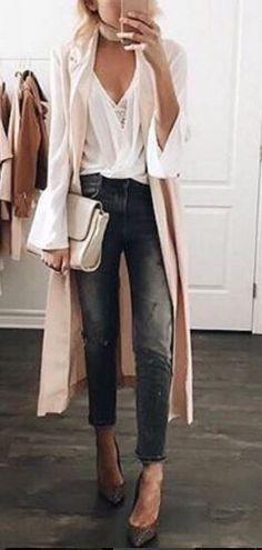 Prime of Life Long Beige Vest at Lulu's - Trendslove