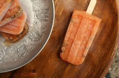 Papaya-Coconut Paletas by Heather Schmitt-Gonzalez