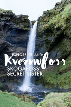 Kvernufoss: Explore a secret Iceland waterfall that's 5 minutes from the famous Skogafoss | Explore Iceland | Travel Iceland | Hike Iceland