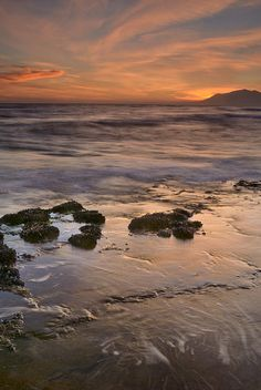 ✮ Beautiful Red Sunset - Mediterranean Sea - Marbella