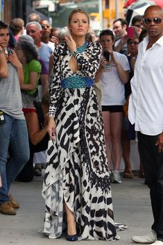 Blake Lively Photo - Blake Lively in the Meat Packing District
