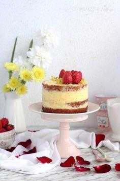 Tarta de fresa y limón
