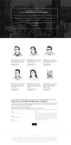 Best About Pages – Showcasing the best of the best about page examples on the web » King + Naranjo