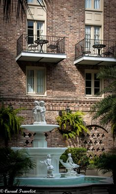 The Maison Dupuy, a historic boutique hotel set in the heart of New Orleans' French Quarter.