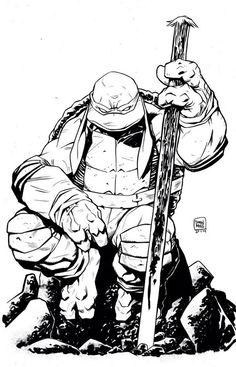 Teenage Mutant Ninja Turtles - Donatello by Drew Moss