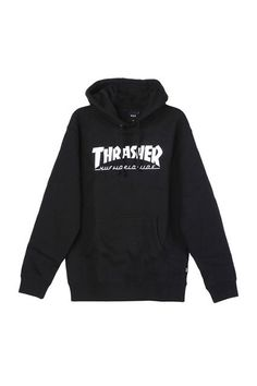 """30 Non-Basics All Fashion Girls Have #refinery29  http://www.refinery29.com/non-basic-fashion-items#slide-5  The Insta-Approved SweatshirtThe fashion girl secret to wearing your lazy Sunday sweatshirt all week long.HUF X THRASHER Classic Pullover, $70, available at <a href=""""http://shopsuperstreet.com/collections/gabi-and-ella/products/huf-x-thrasher-black-classic-h-pullover?variant=10704020931"""" rel=""""nofollow"""" tar..."""