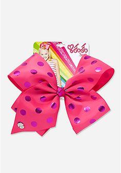 Pink Polka Dot Jojo Siwa Bow