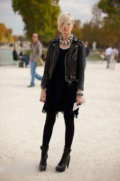 6133a80e394c Kate Lanphear Rock Chic, Stil Och Mode, Vardagsmode, Svart, Kläder, Vinter