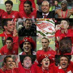 LFC AT ISTANBUL 2005 #UEFA CHAMPION LEAGUE