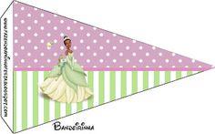 bandeirinha com nome das princesas - Pesquisa do Google