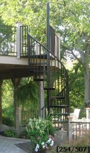 Stairways, Inc - Spiral Stairs, Spiral Staircase, Spiral Staircase Kits, Outdoor Stairs, and Spiral Stair Kits