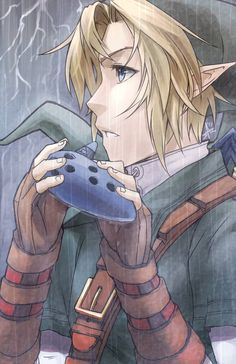 The legend of Zelda fan art  - Link (Ocarina of time)