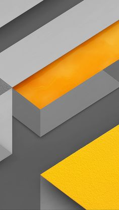 freeios8.com - vl10-marshmallow-android-yellow-triangle-pattern - http://bit.ly/1X15VSO - iPhone, iPad, iOS8, Parallax wallpapers