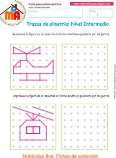 Ejercicio 11 nivel intermedio: Actividades escolares de trazos de…