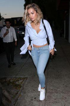 Rita Ora at Matsuhisa in Beverly Hills