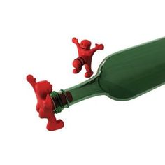 Happy Man Bottle Stopper...I think this is just too CUTE! Love it! lol