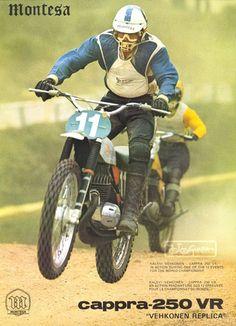 Motocross Bikes, Vintage Motocross, Vintage Bikes, Retro Vintage, Bmx Pedals, Off Road Racing, Street Tracker, Dirt Bikes, World Championship