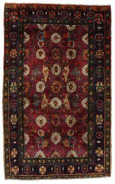 Koliai - Kurdi Persian Carpet 210x130