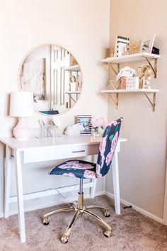 33 Best Girls room desk images in 2019 | Bedroom decor ...