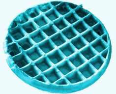 I could eat me a blue waffle every day of my life. Blue Waffle Disease, Blue Food, Happy Anniversary, Ice Cube Trays, My Favorite Color, 9 And 10, Treats, Make It Yourself, Canning