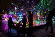 Peacock Lane lights up Southeast Portland with holiday spirit   OregonLive.com