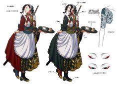 【17,000RT】明治大正ロマンあふれる和服メイドさんのイラストがかわいい Character Inspiration, Character Art, Character Design, Japanese Outfits, Drawing Clothes, Step By Step Drawing, Manga Drawing, Kawaii Girl, Anime Outfits