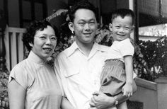 """Mr Lee Kuan Yew - """"At the end of the day, what I cherish most are the human relationships. With the unfailing support of my wife and partner, I have lived life to the fullest."""" — 2003, at Mr Lee's 80th birthday celebrations."""