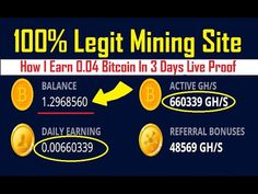 OMG😱😍 Dont Miss!! How i Earn 0.04 Bitcoin_ Free Bitcoin Cloud Mining Sit... Bitcoin Bot, Bitcoin Mining, Cloud Mining, Cryptocurrency Trading, The Creator, Investing, Clouds, Free, Cloud