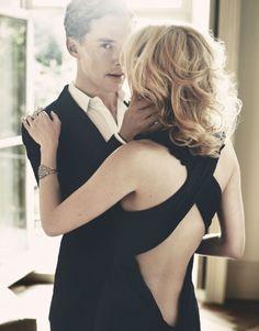 Benedict Cumberbatch by Jonty Davies for Marie Claire UK Dec 2010