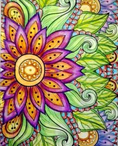 Inspirational Coloring Pages by Geiza Hanke