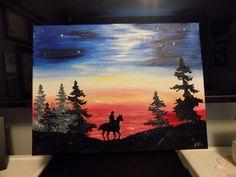 Freedom Sunset 12X16    $35            (pls shp)