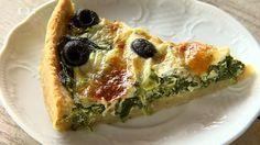 Špenátový koláč — Recepty — Kouzelné bylinky — Česká televize